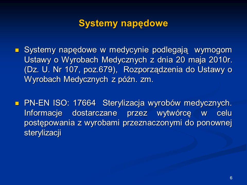 Systemy napędowe