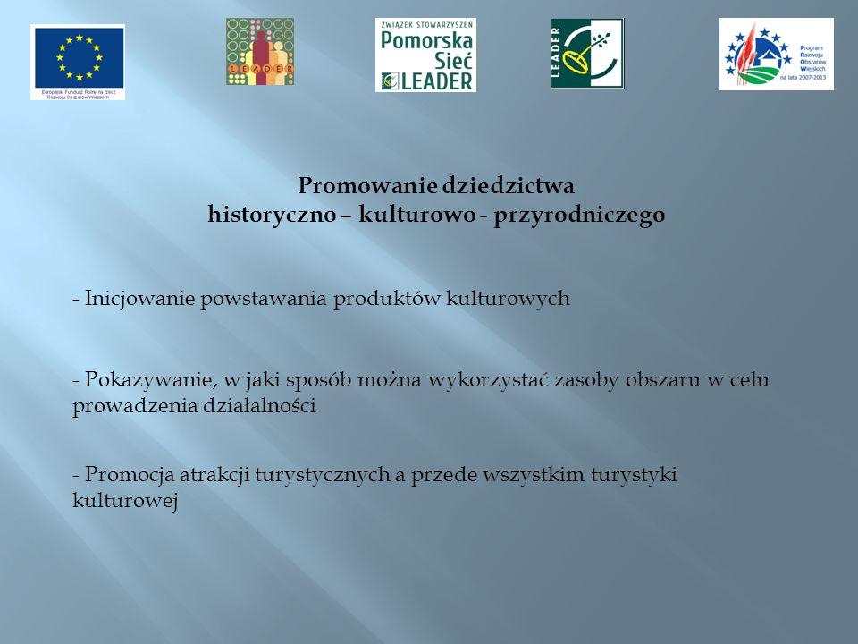 Promowanie dziedzictwa historyczno – kulturowo - przyrodniczego