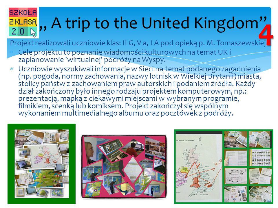 """ A trip to the United Kingdom"