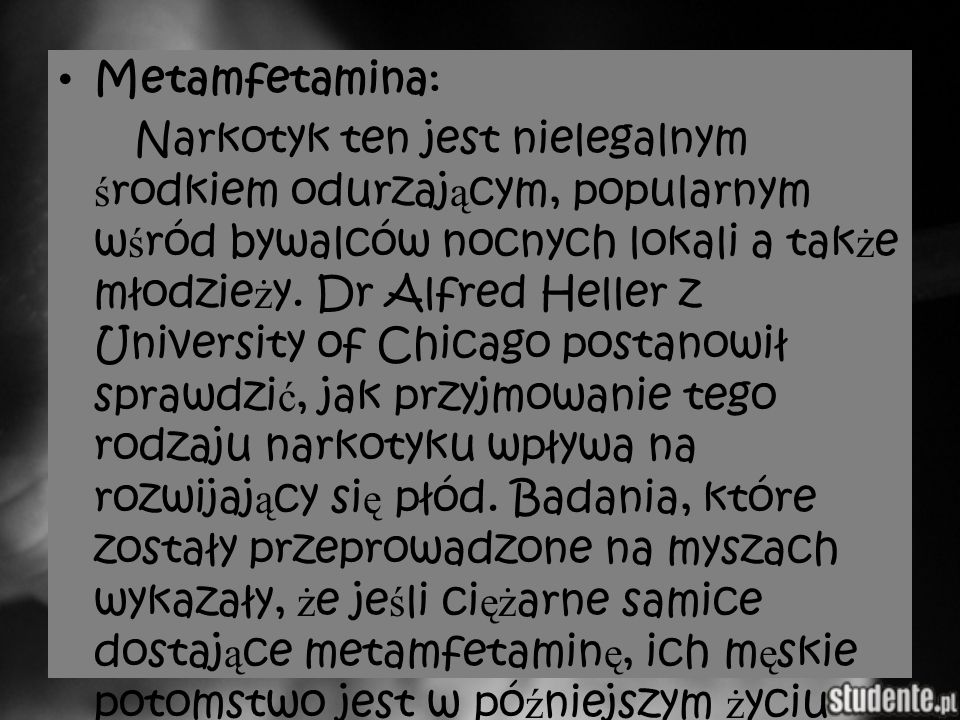 Metamfetamina: