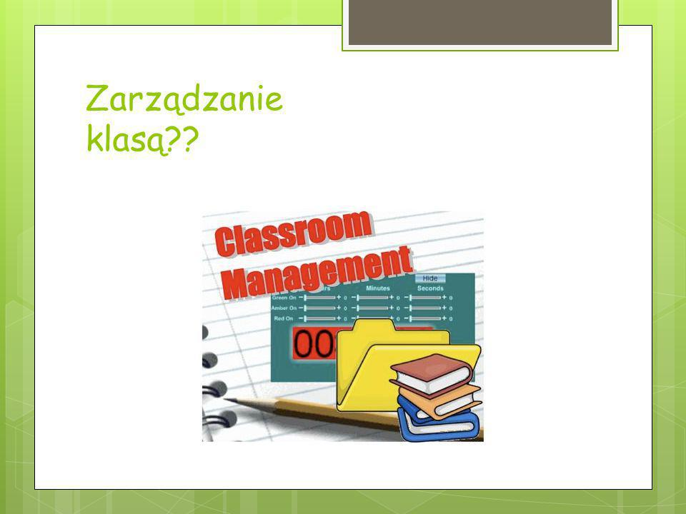 Zarządzanie klasą