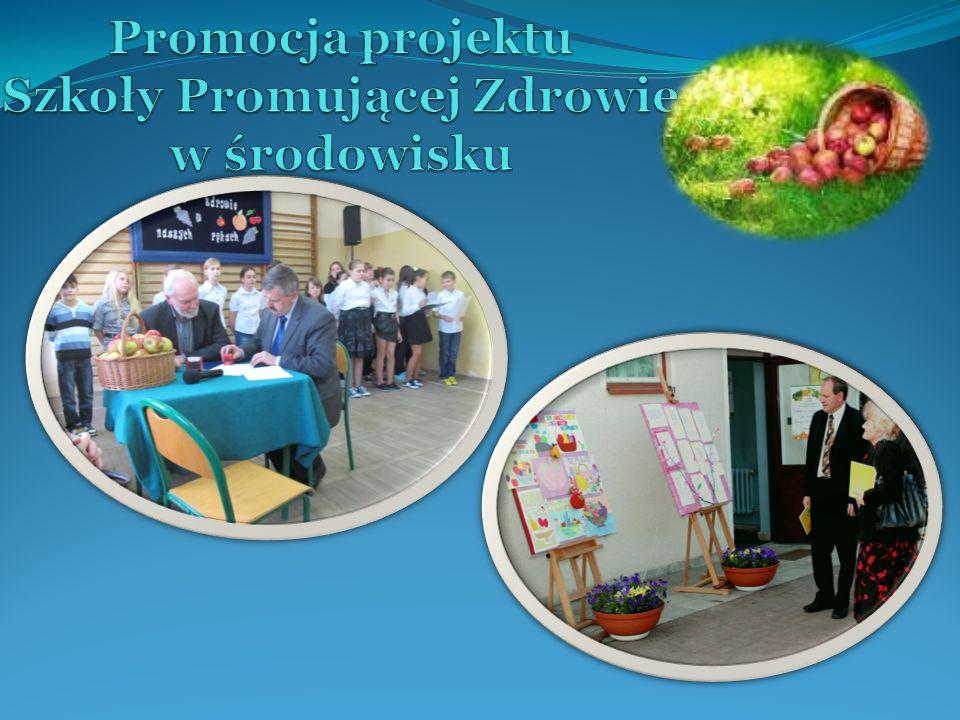 Promocja projektu Szkoły Promującej Zdrowie w środowisku