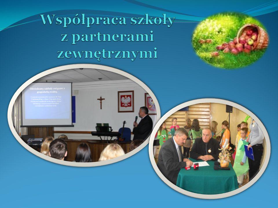Współpraca szkoły z partnerami zewnętrznymi