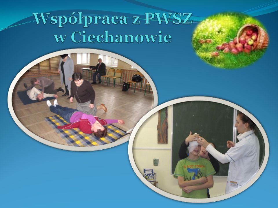Współpraca z PWSZ w Ciechanowie