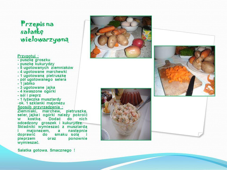Przepis na sałatkę wielowarzywną