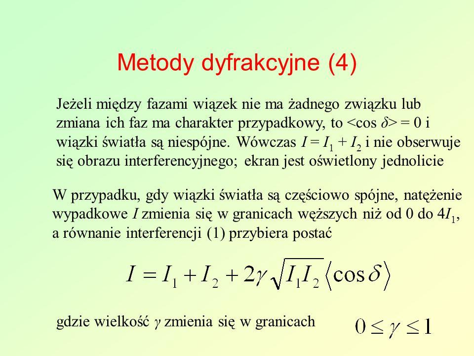 Metody dyfrakcyjne (4)