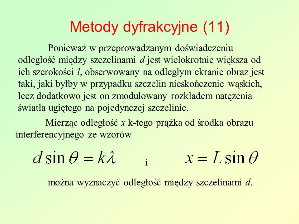 Metody dyfrakcyjne (11)