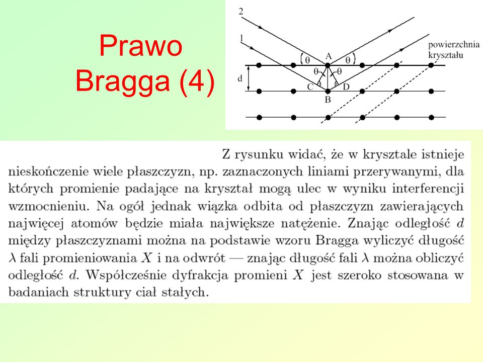 Prawo Bragga (4)