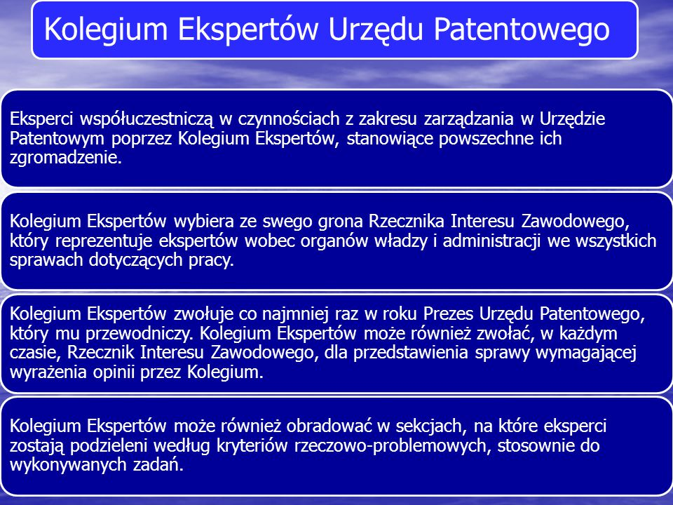 Kolegium Ekspertów Urzędu Patentowego