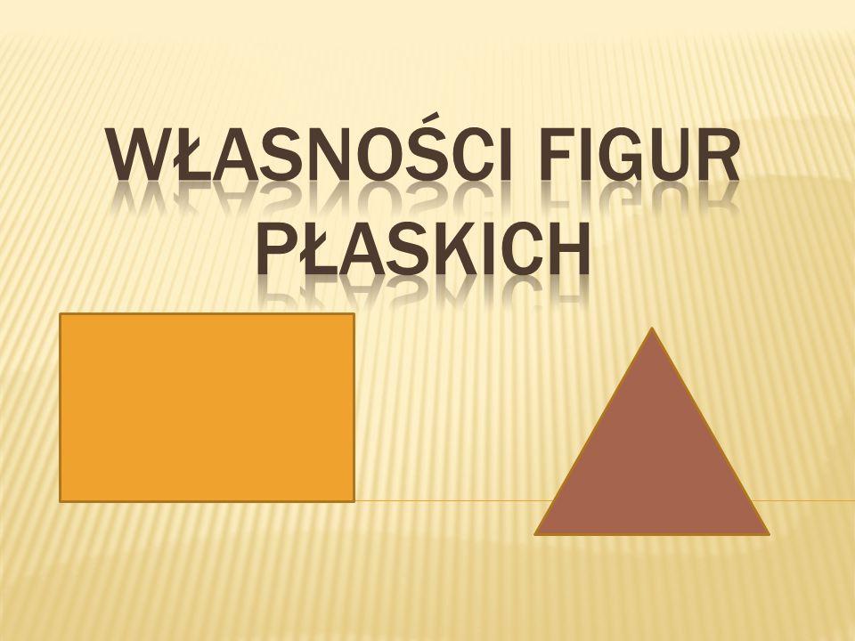 Własności Figur Płaskich