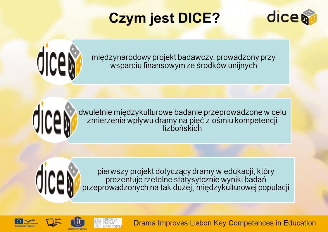 Czym jest DICE międzynarodowy projekt badawczy, prowadzony przy wsparciu finansowym ze środków unijnych.