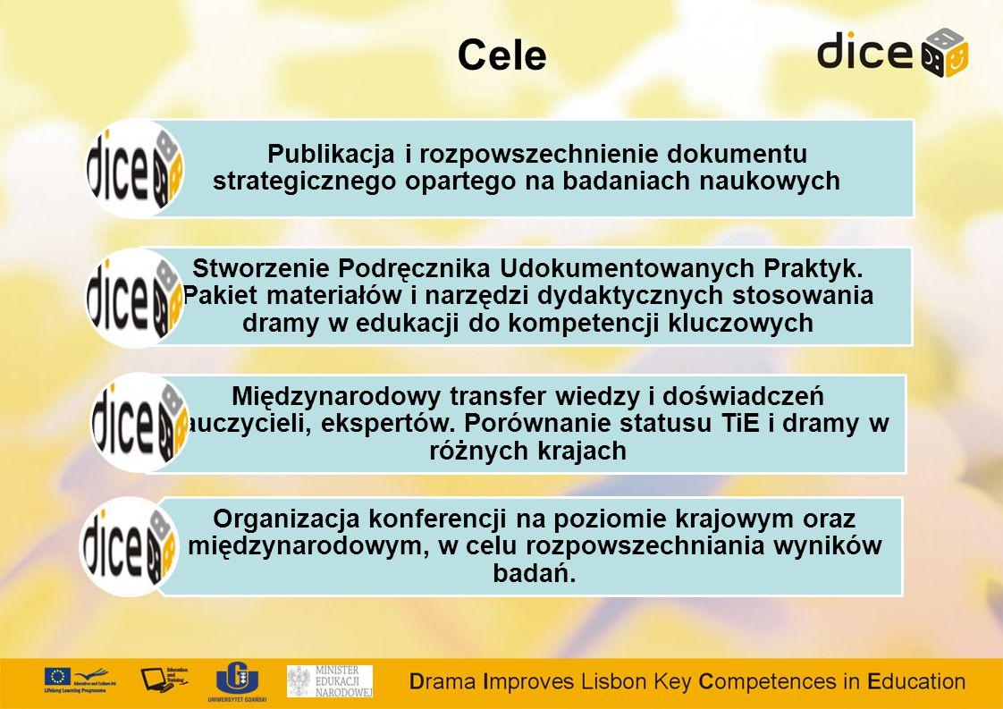 Cele Publikacja i rozpowszechnienie dokumentu strategicznego opartego na badaniach naukowych.