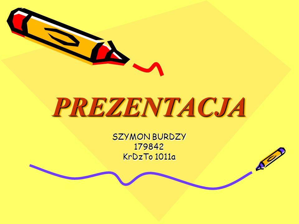 PREZENTACJA SZYMON BURDZY 179842 KrDzTo 1011a