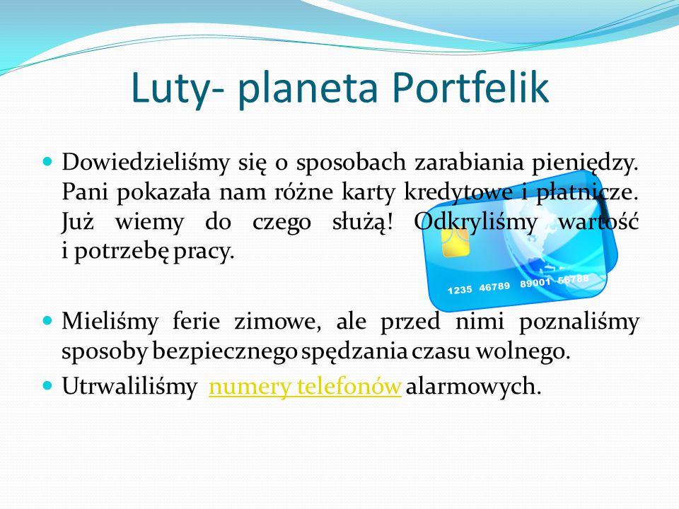 Luty- planeta Portfelik