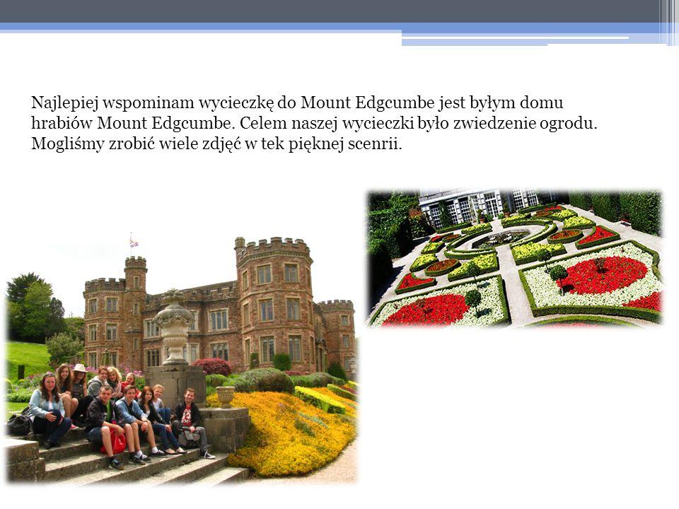 Najlepiej wspominam wycieczkę do Mount Edgcumbe jest byłym domu hrabiów Mount Edgcumbe.