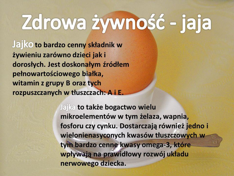 Zdrowa żywność - jaja