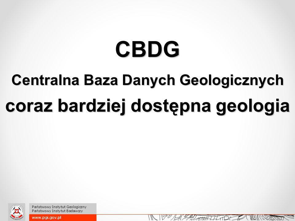 Centralna Baza Danych Geologicznych coraz bardziej dostępna geologia