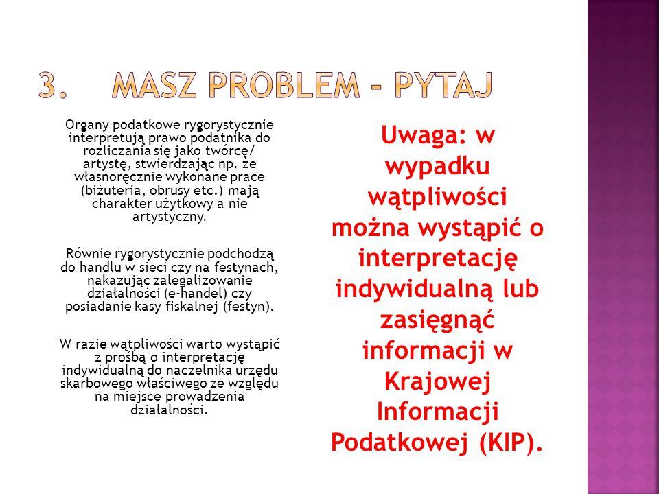 3. Masz problem - pytaj