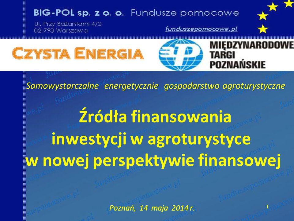 Samowystarczalne energetycznie gospodarstwo agroturystyczne