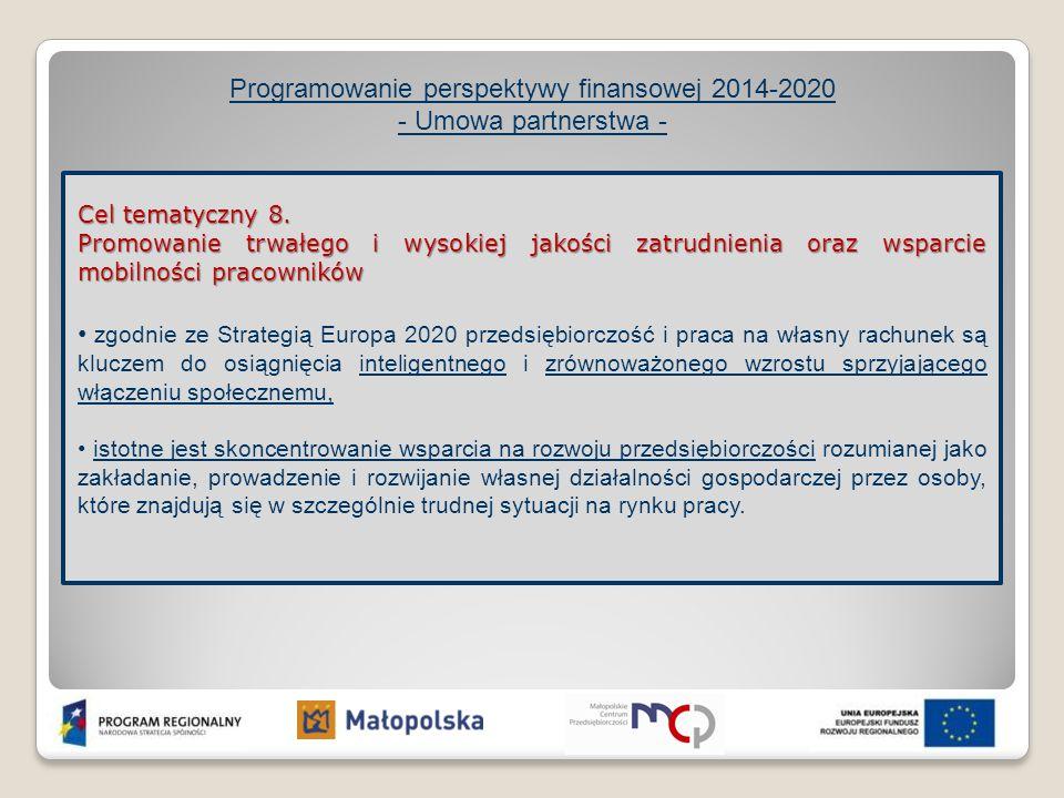 Programowanie perspektywy finansowej 2014-2020