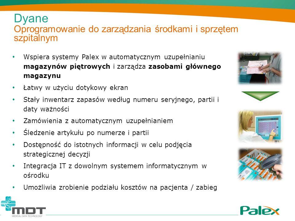 Dyane Oprogramowanie do zarządzania środkami i sprzętem szpitalnym