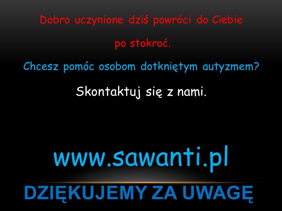 www.sawanti.pl Dziękujemy za uwagę Skontaktuj się z nami.