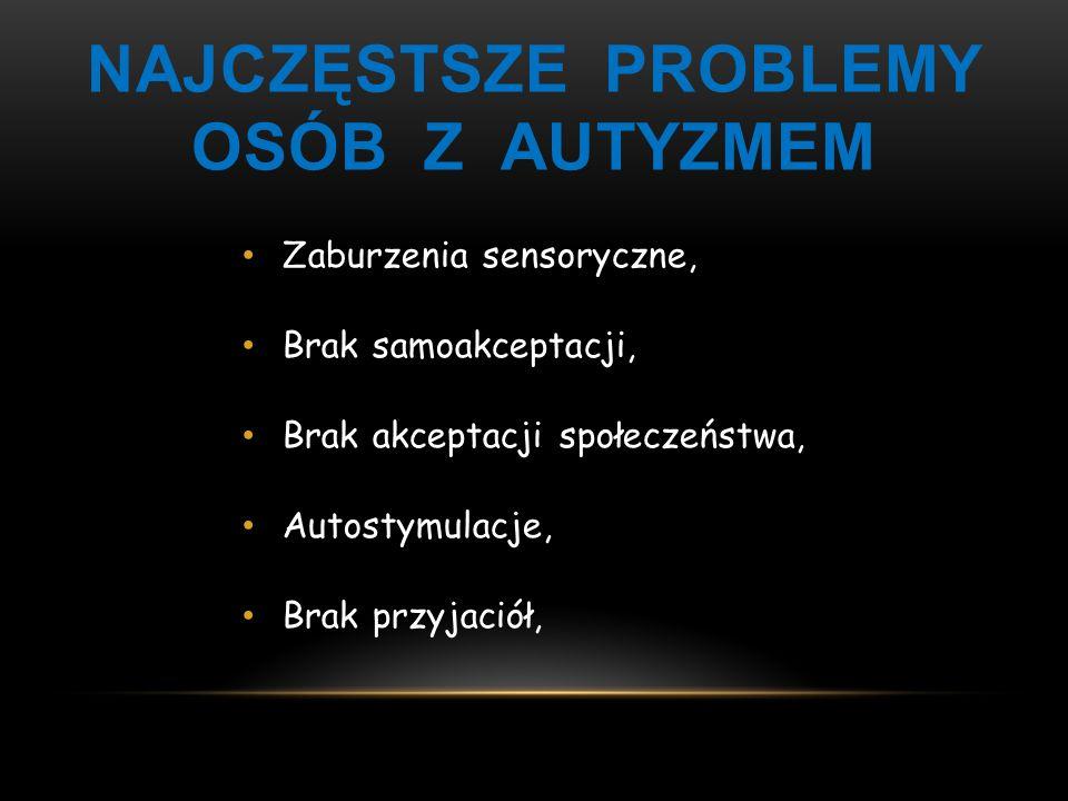 Najczęstsze problemy osób z autyzmem