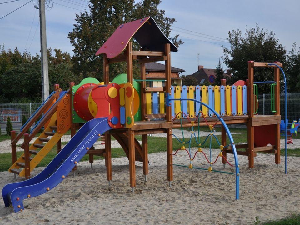 Plac zabaw przy ul. Targowej w Wartkowicach