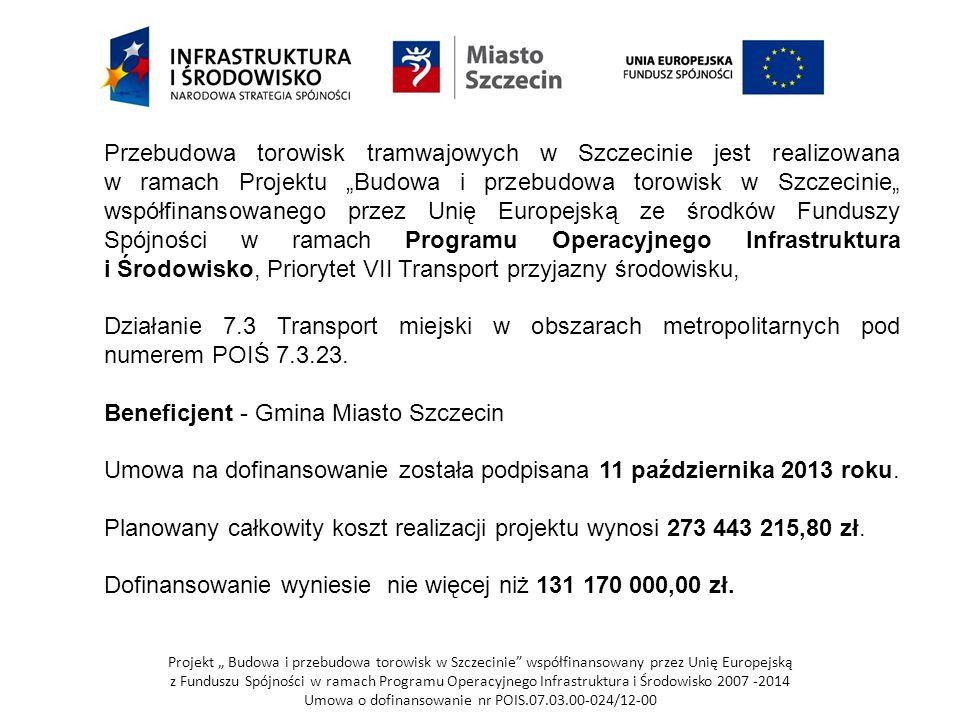 Beneficjent - Gmina Miasto Szczecin