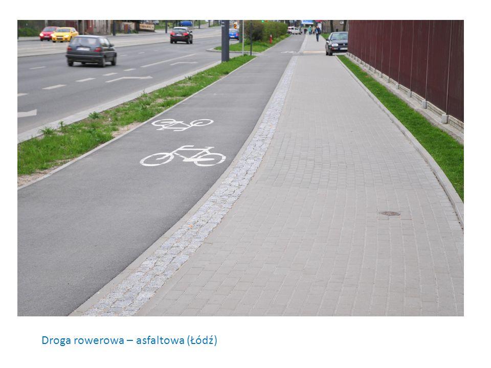 Droga rowerowa – asfaltowa (Łódź)