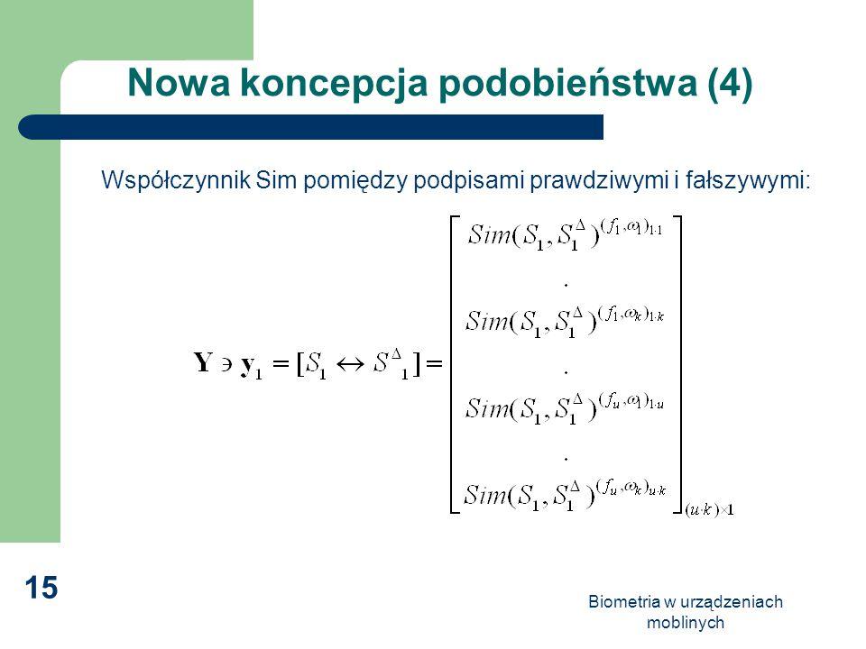 Nowa koncepcja podobieństwa (4)