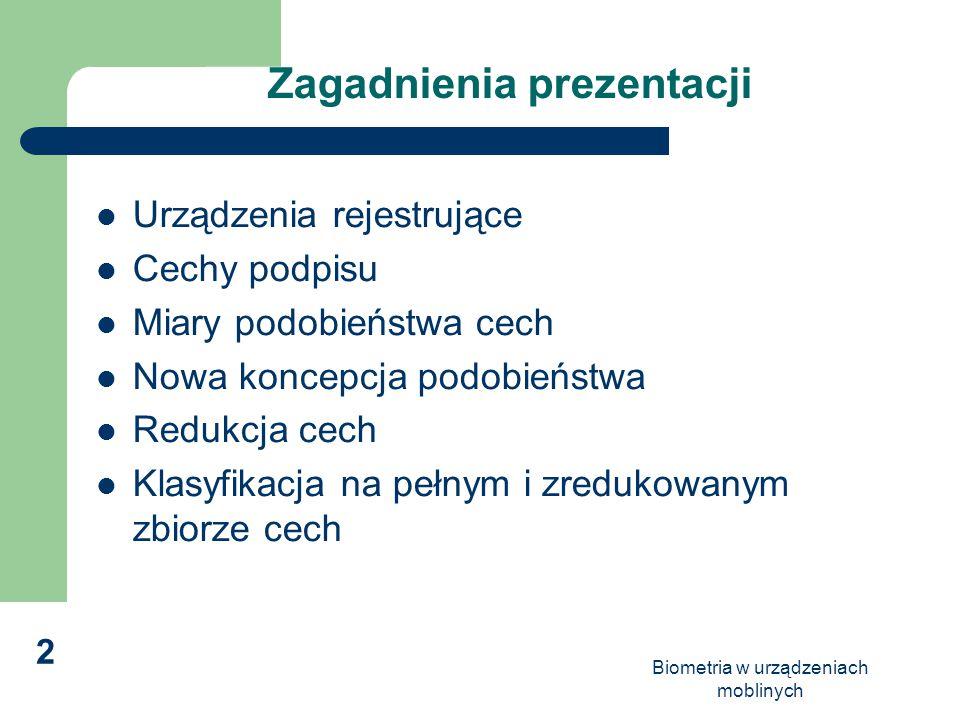 Zagadnienia prezentacji