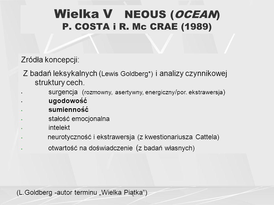 Wielka V NEOUS (OCEAN) P. COSTA i R. Mc CRAE (1989)