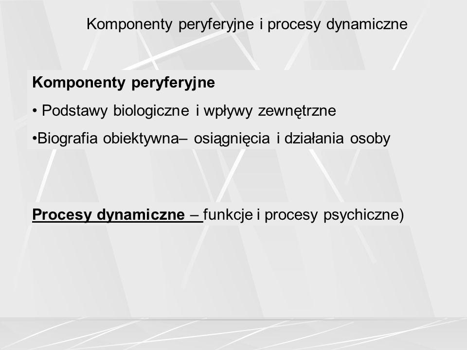 Komponenty peryferyjne i procesy dynamiczne