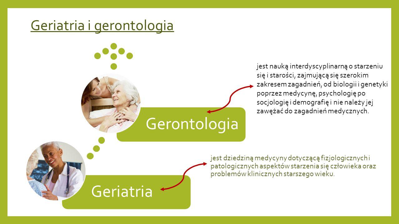 Geriatria i gerontologia