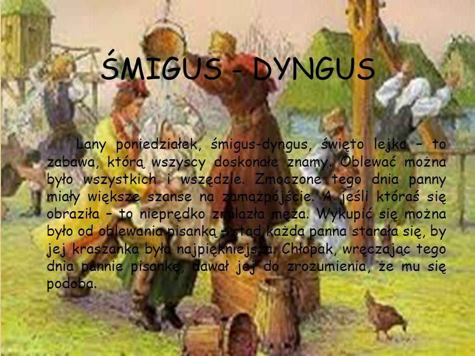 ŚMIGUS - DYNGUS