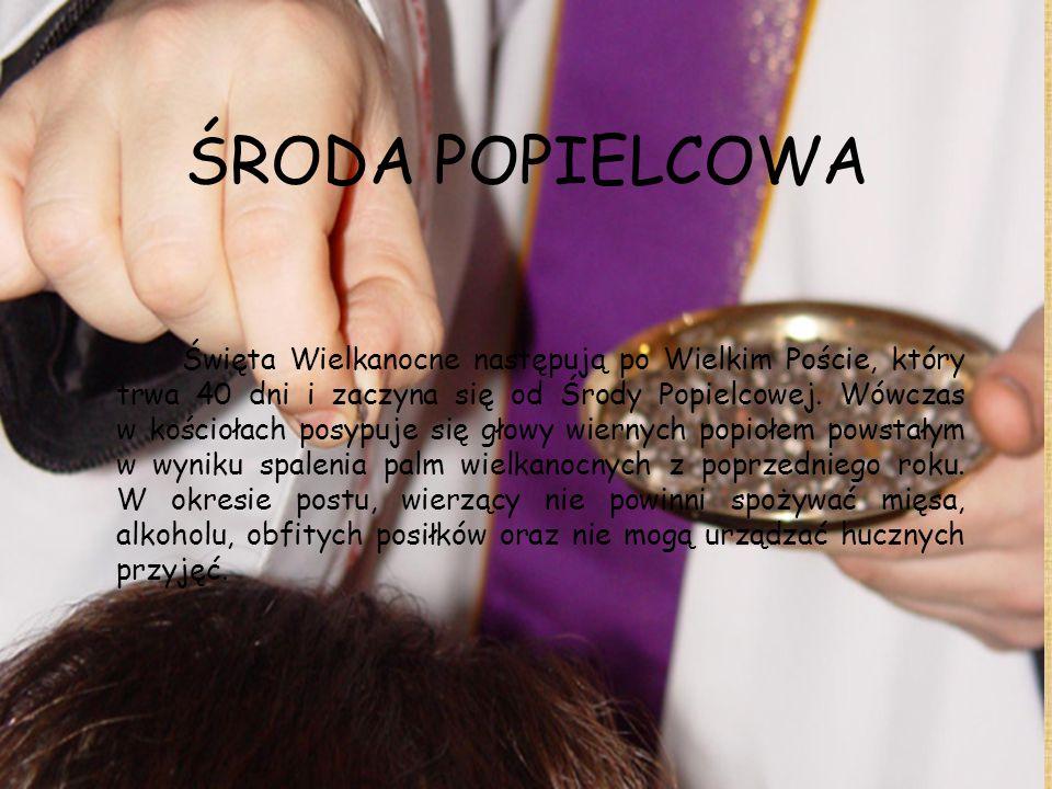 ŚRODA POPIELCOWA