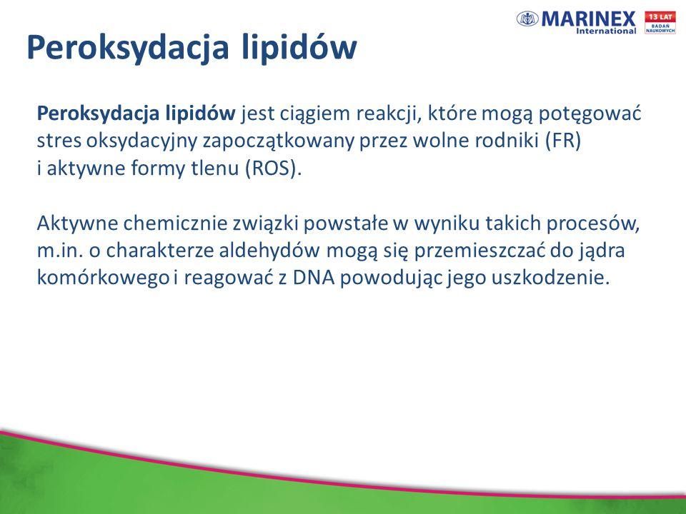 Peroksydacja lipidów