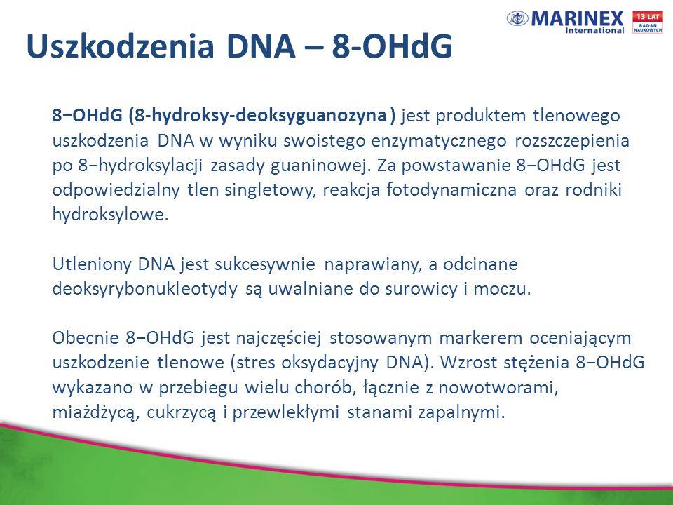 Uszkodzenia DNA – 8-OHdG