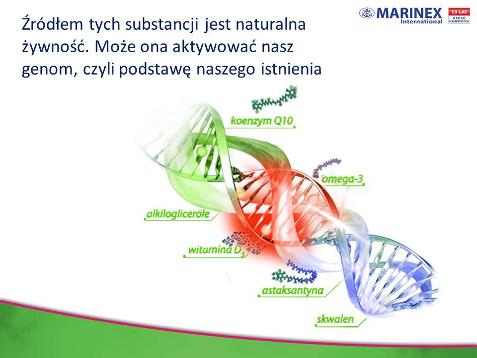 Źródłem tych substancji jest naturalna żywność