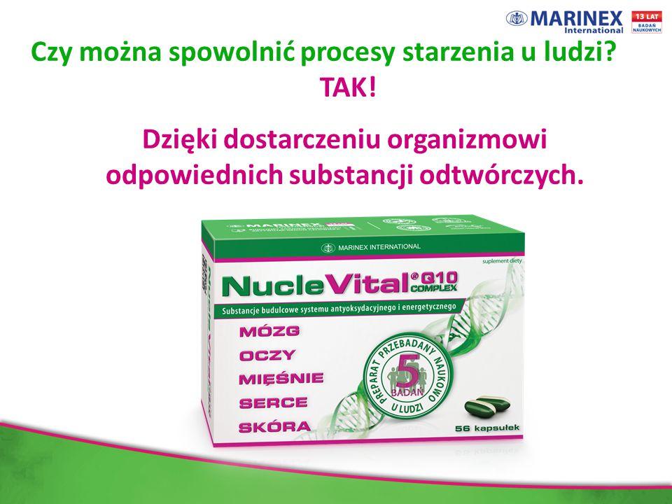 Dzięki dostarczeniu organizmowi odpowiednich substancji odtwórczych.
