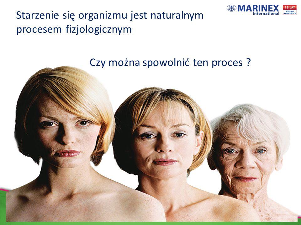 Starzenie się organizmu jest naturalnym procesem fizjologicznym