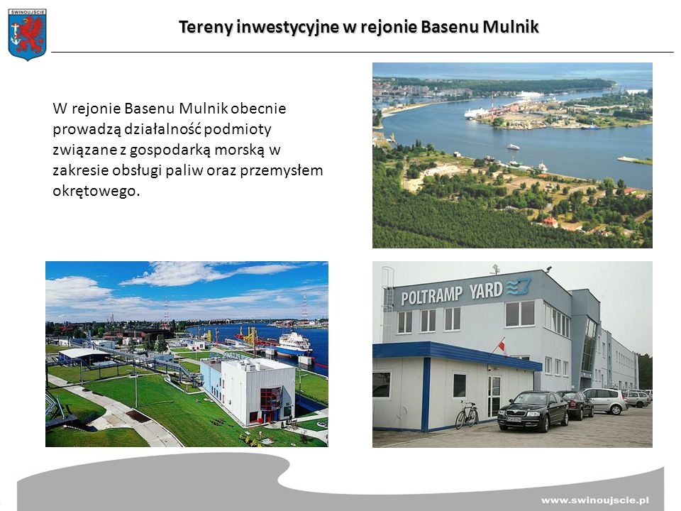 Tereny inwestycyjne w rejonie Basenu Mulnik