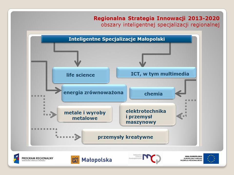 Regionalna Strategia Innowacji 2013-2020 obszary inteligentnej specjalizacji regionalnej