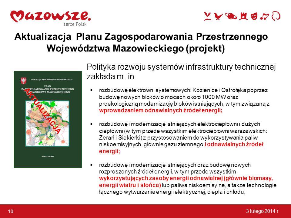 Aktualizacja Planu Zagospodarowania Przestrzennego