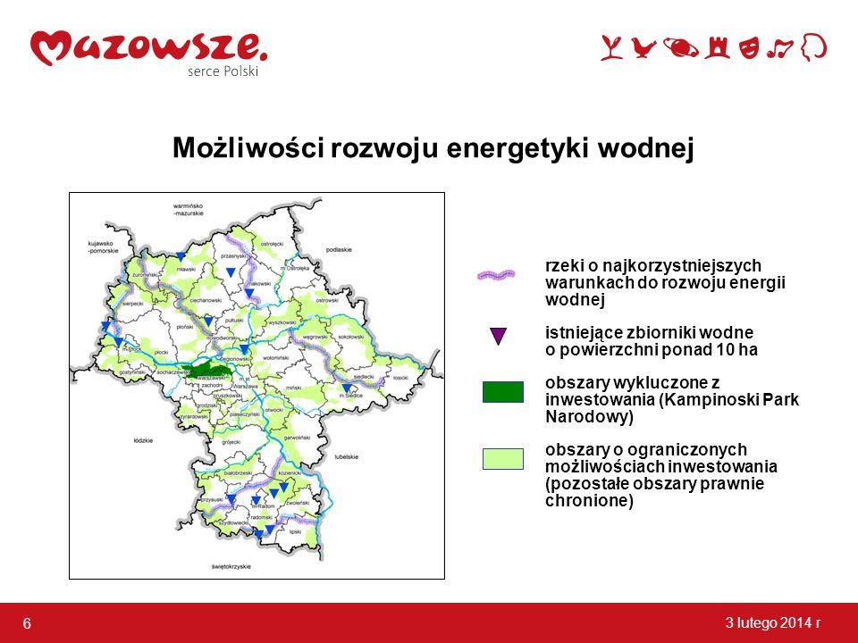 Możliwości rozwoju energetyki wodnej