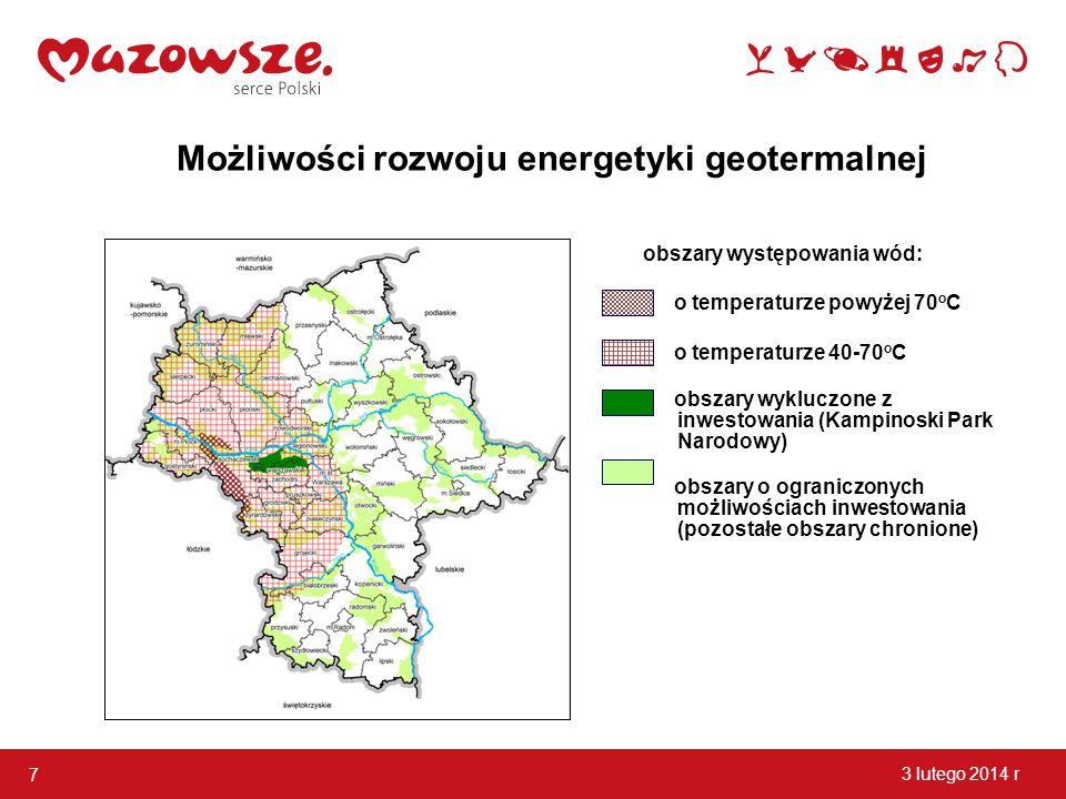 Możliwości rozwoju energetyki geotermalnej