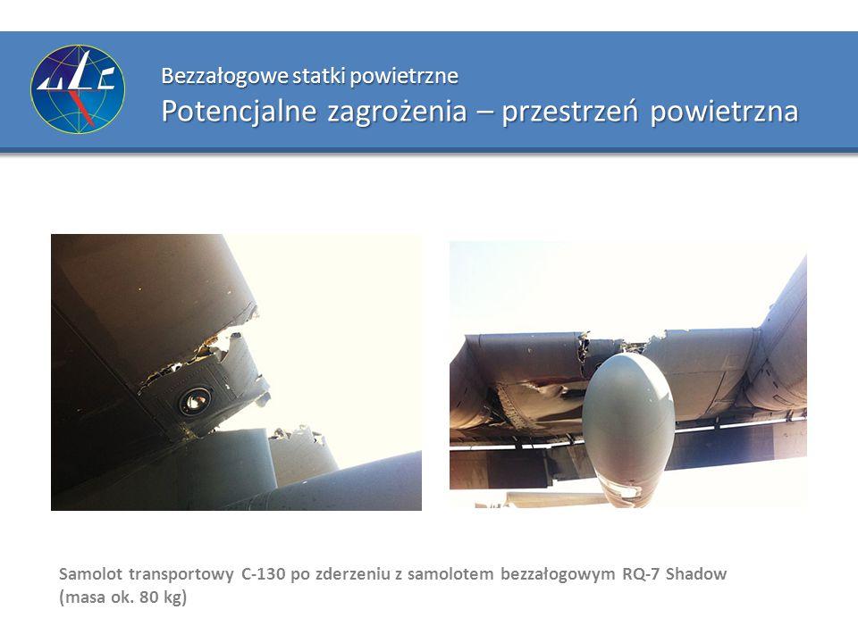 Bezzałogowe statki powietrzne Potencjalne zagrożenia – przestrzeń powietrzna