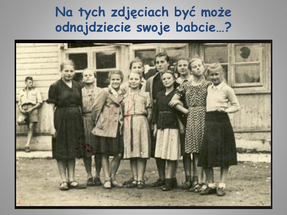 Na tych zdjęciach być może odnajdziecie swoje babcie…