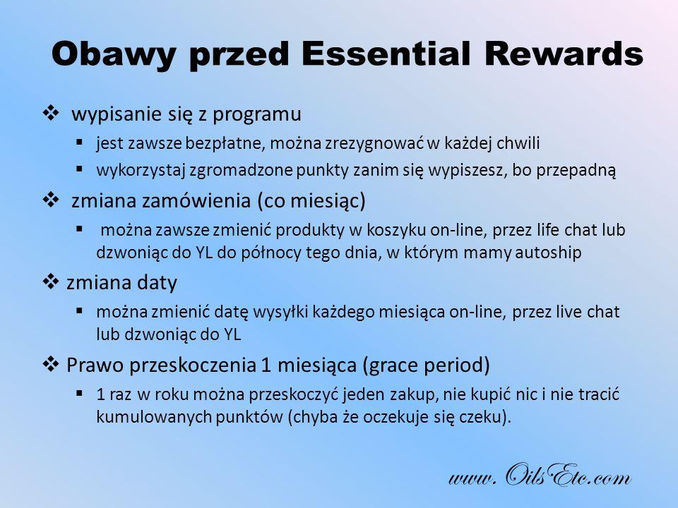 Obawy przed Essential Rewards